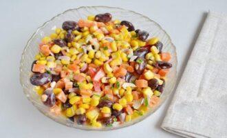 Салат «Веселенький» - вкусный витаминный салат
