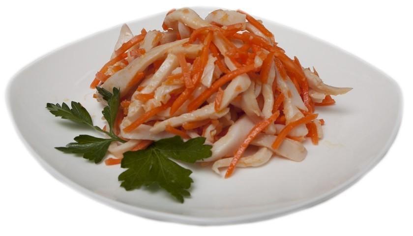 Самые простые кальмары по корейски