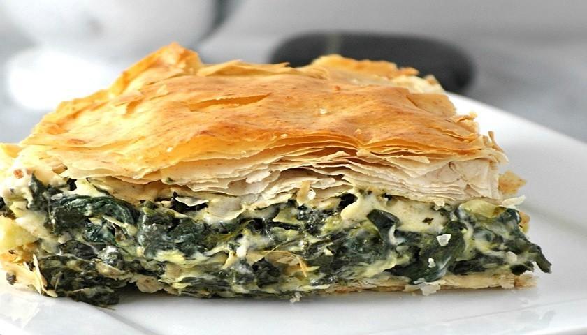 Греческая кухня - спанакопита