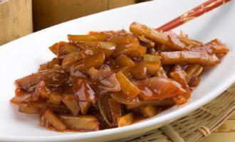 Картофель в имбирном соусе