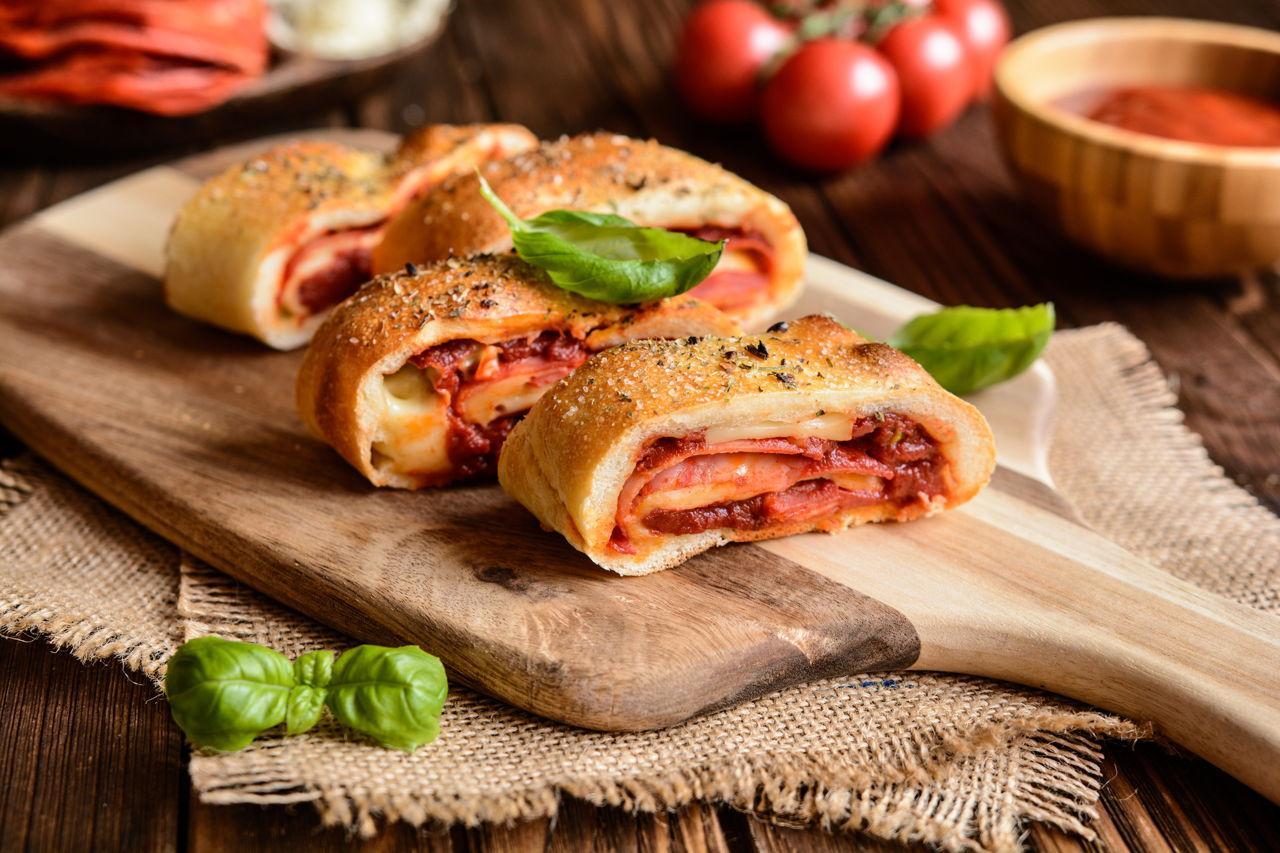 Итальянские домашние пироги - стромболи