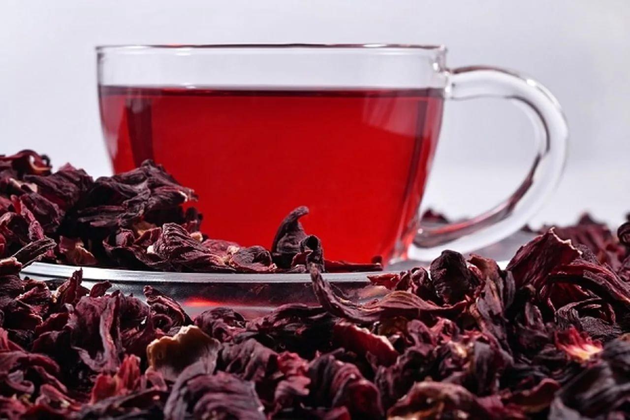 Как заваривать красный чай каркаде