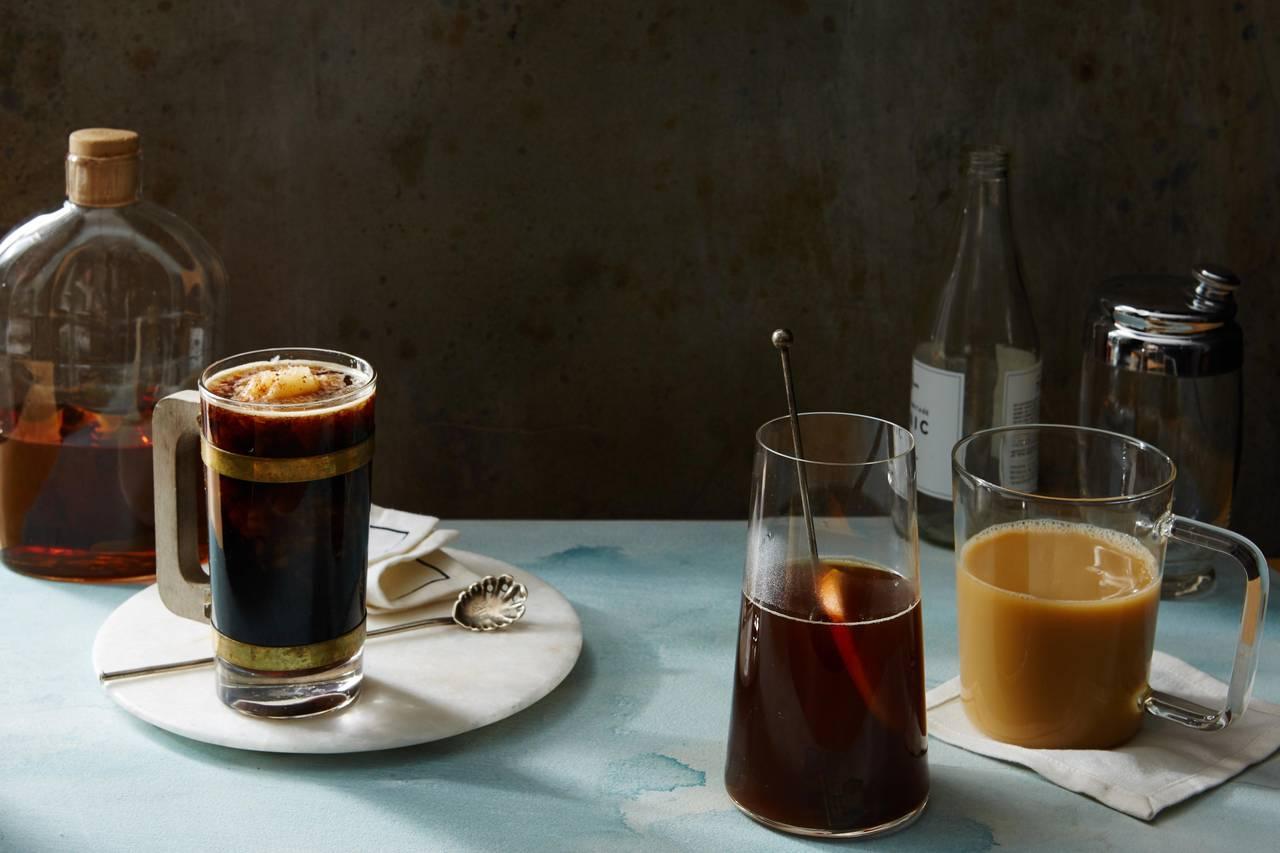 Пунш «Кофе с коньяком»