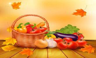 Салат «Жаркая осень»