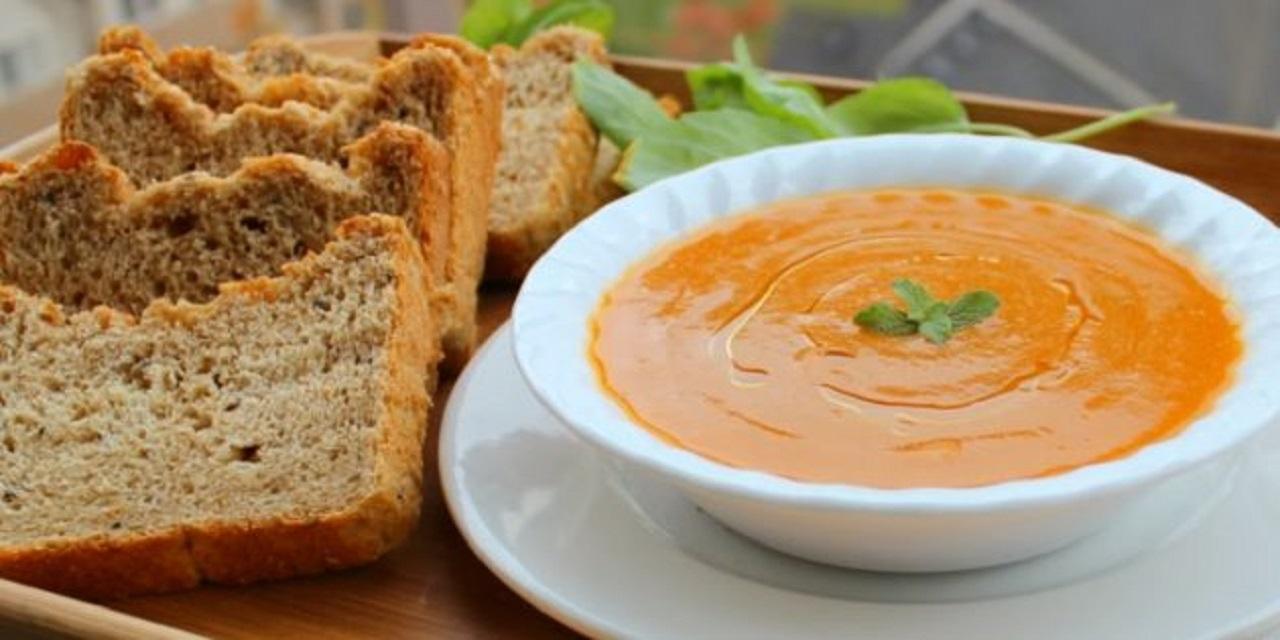 Постный овощной суп-пюре