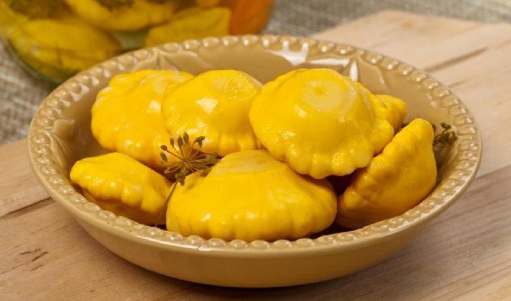 Что приготовить из патиссонов: маринованные патиссоны с горчицей