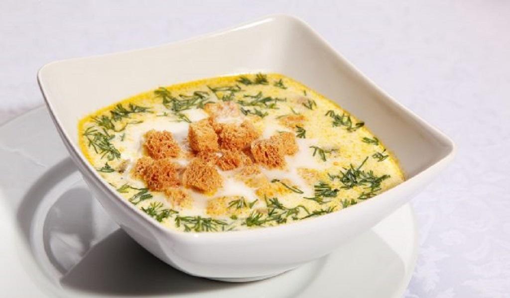 Что приготовить из патиссонов: сырный суп с патиссонами