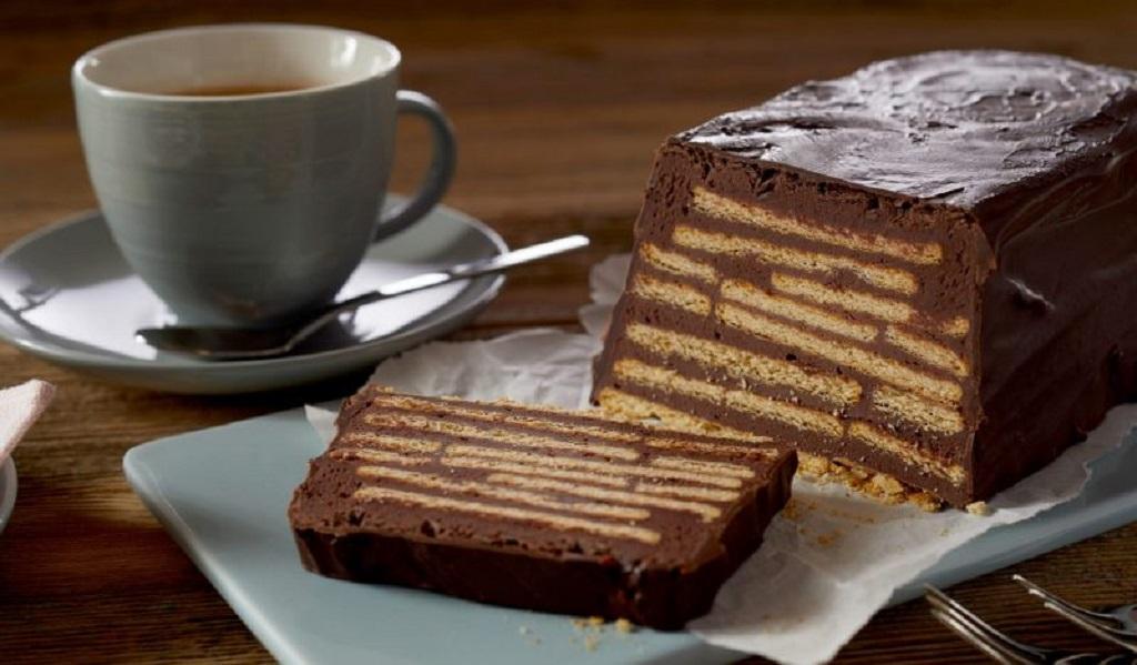 Немецкий торт из печенья без выпечки