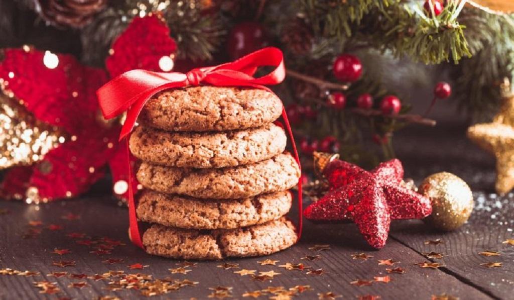Быстрое овсяно-имбирное печенье