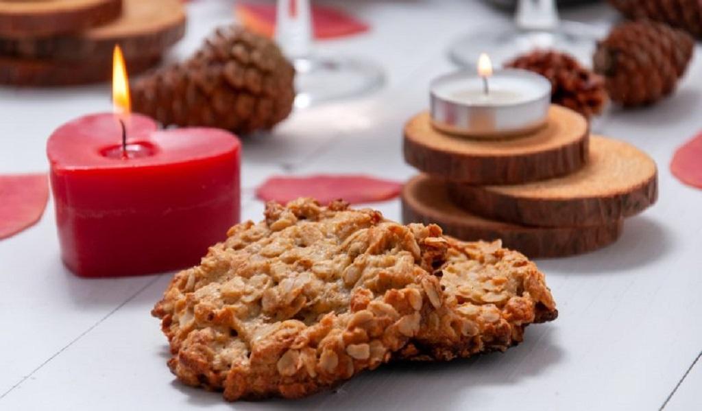 Печенье с орехами и сухофруктами