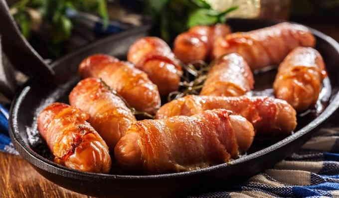Что приготовить из сосисок - свинки в одеялах