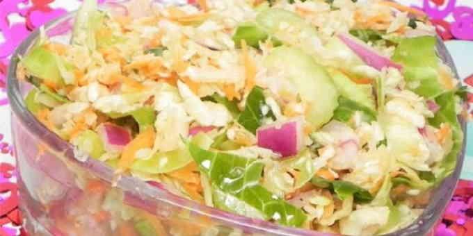 Постные рецепты - овощной салат