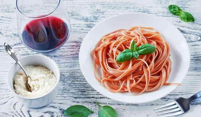 Что приготовить из спагетти - «Пьяная» паста
