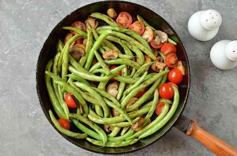 Рецепт шампиньонов тушеных с овощами